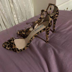 Steve Madden leopard heels
